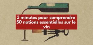 3 minutes pour comprendre 50 notions essentielles sur le vin de Gérard Basset