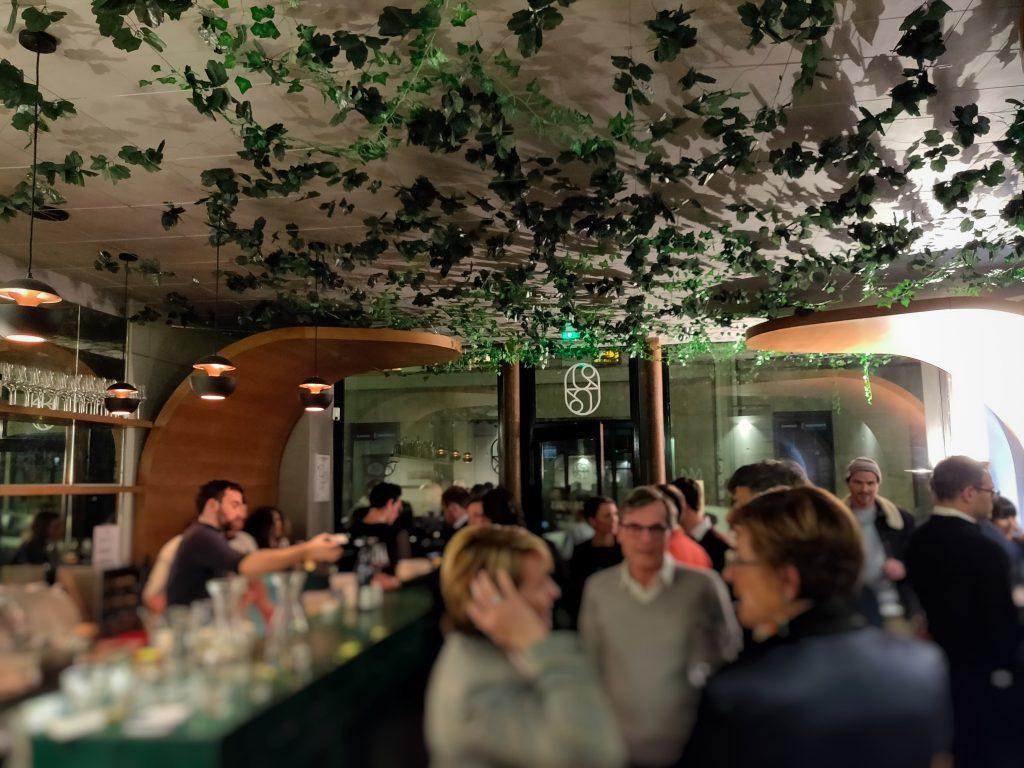 Intérieur de 228 litres : bar à vin rue Victor Massé à Paris