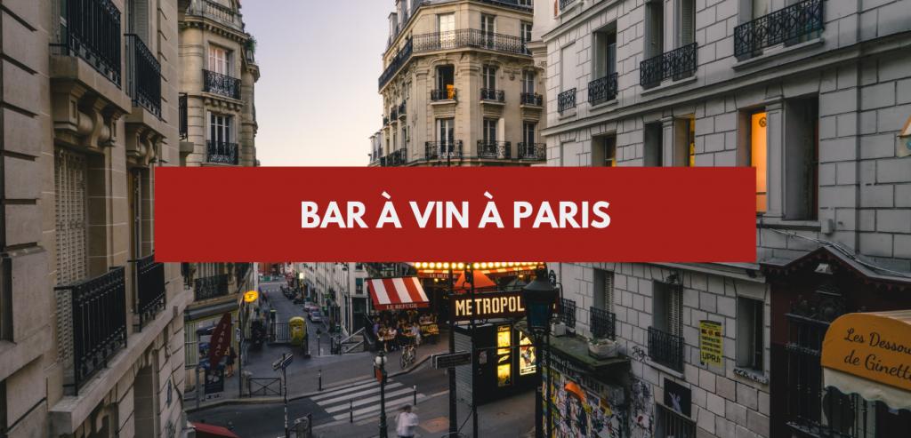 Bar à vin à Paris