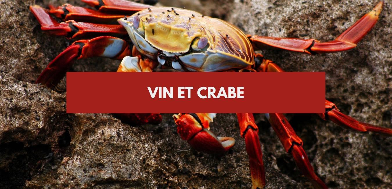 Vin et crabe