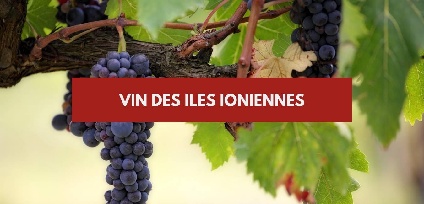 Vin iles ioniennes