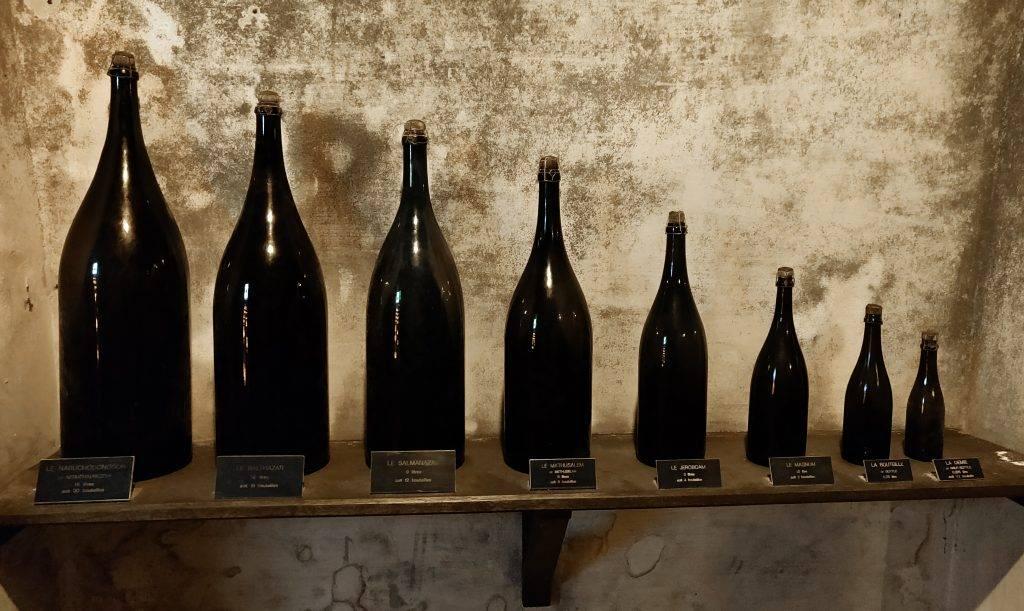 Taille bouteille de vin