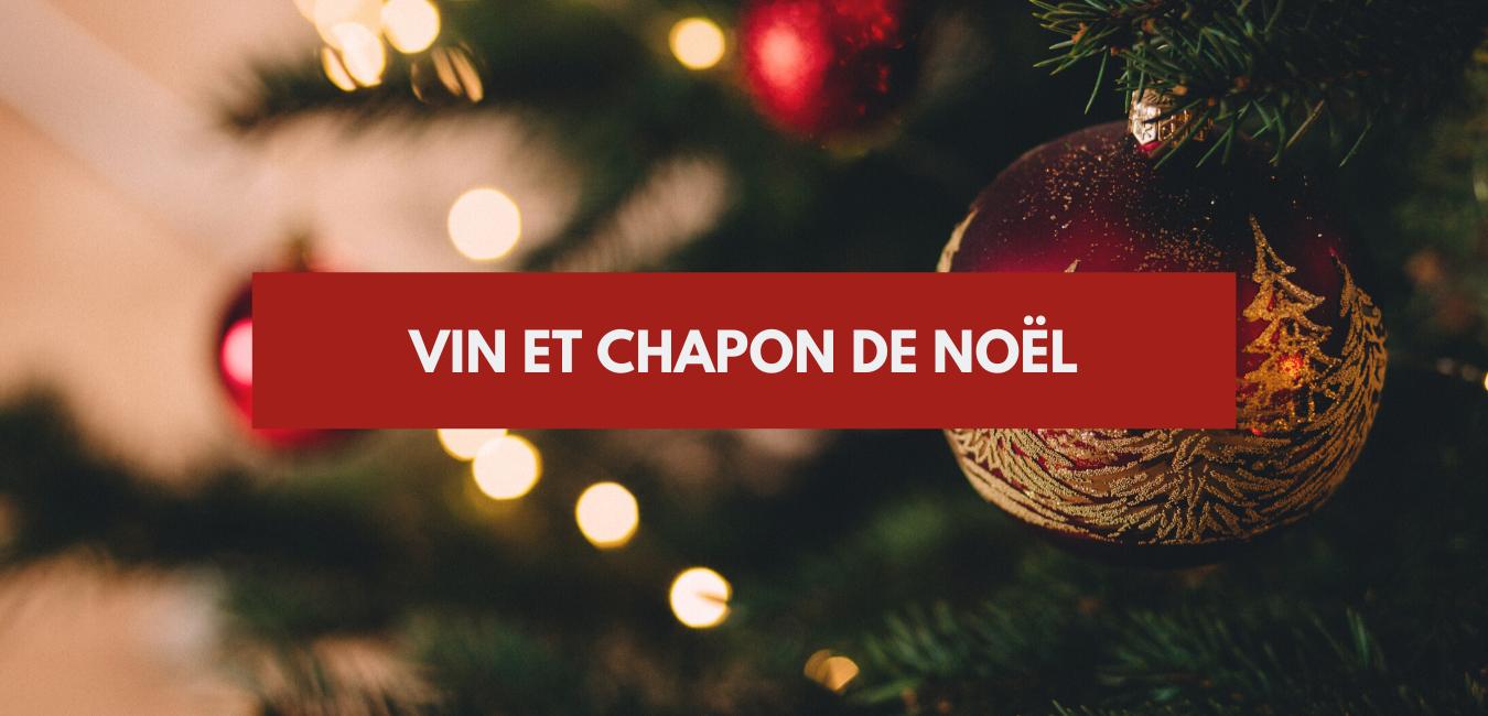 Vin et chapon de Noël
