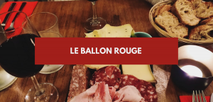 Le ballon rouge à Paris