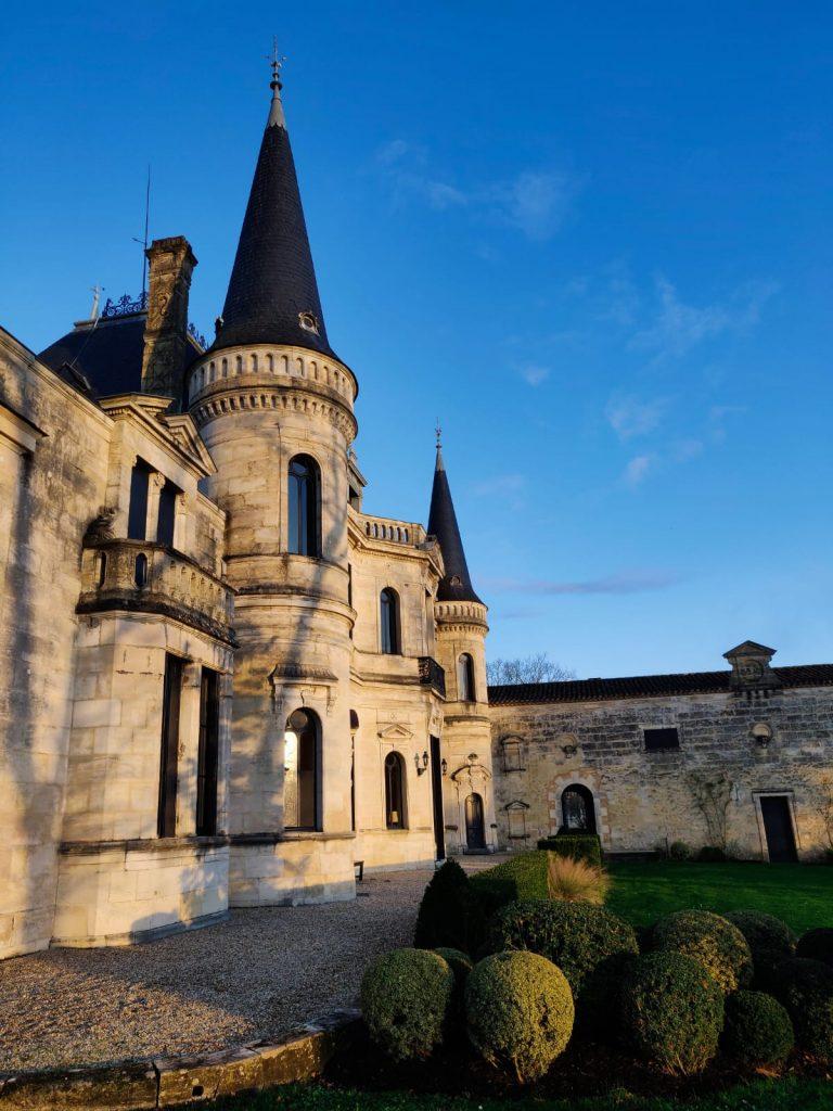 Château Palmer - extérieur ensoleillé