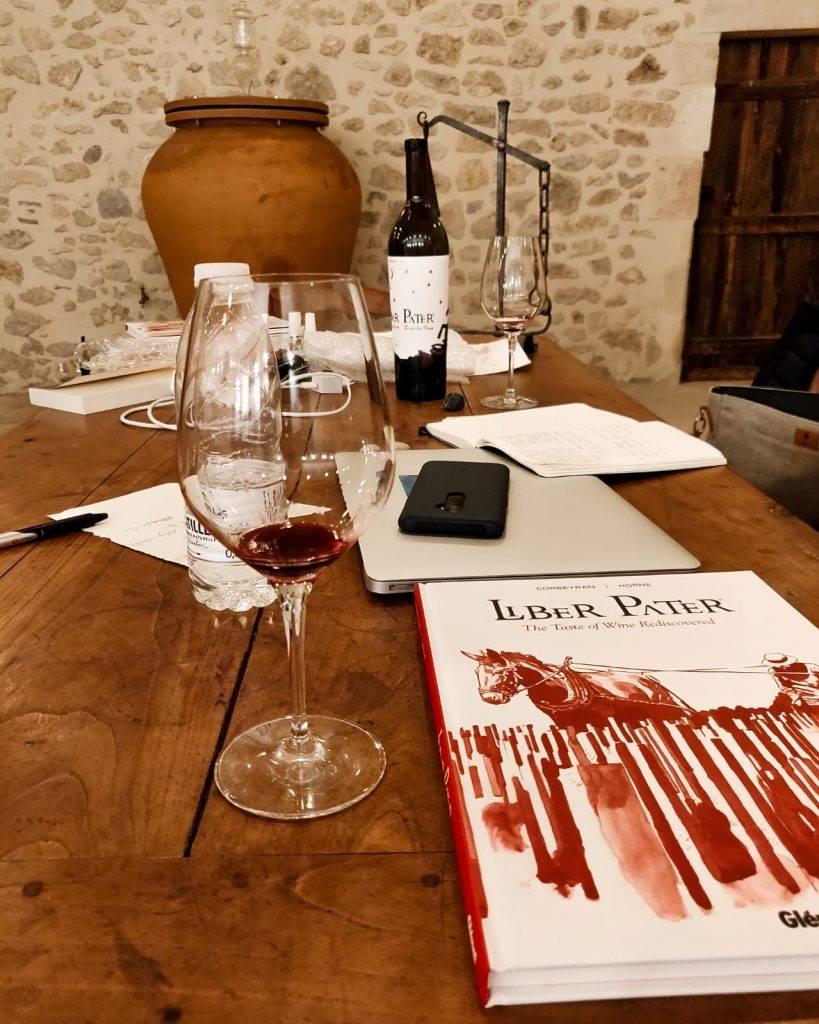 Interview au chai Liber Pater - Loic Pasquet