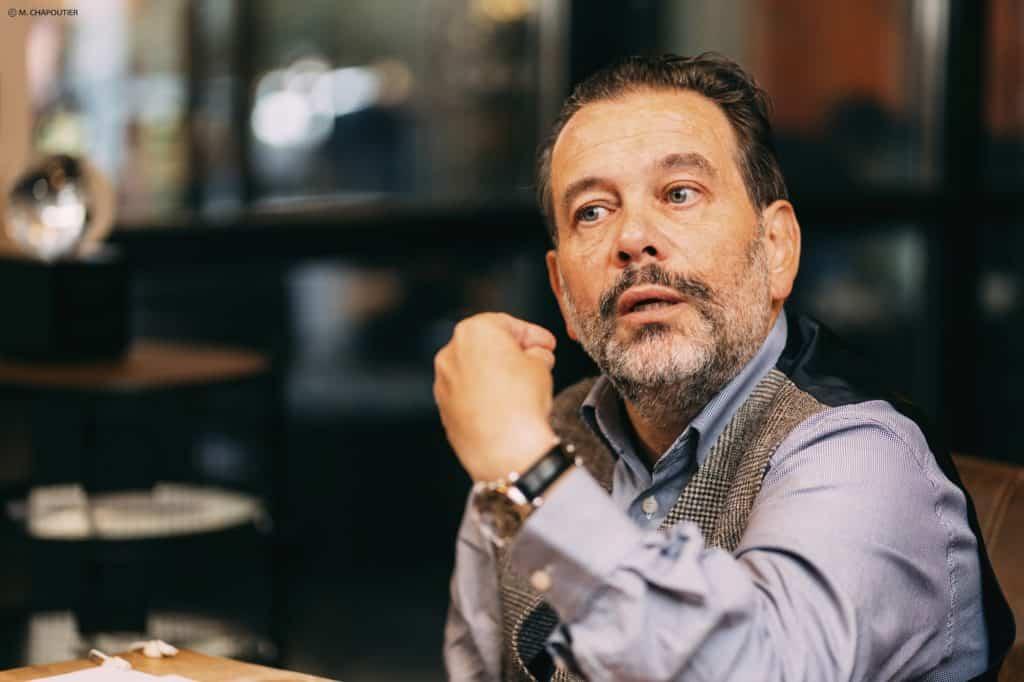 Portrait Michel Chapoutier