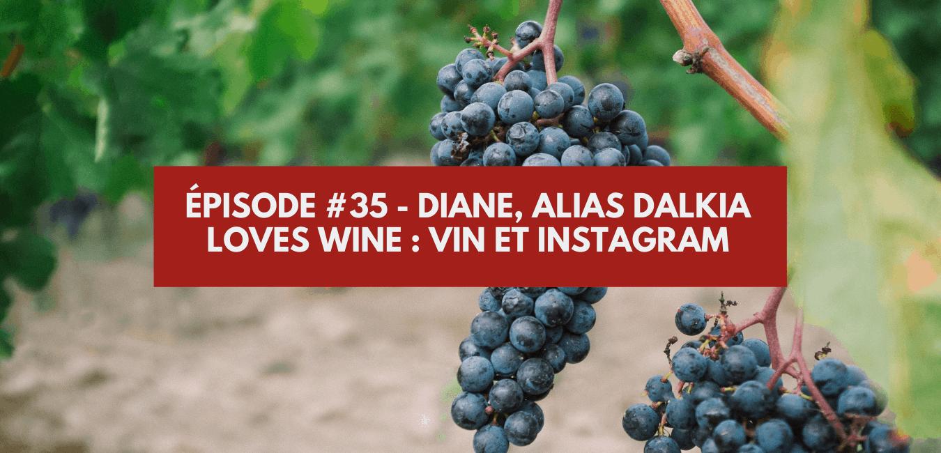 Épisode #35 – Diane, alias Dalkia loves wine : vin et Instagram