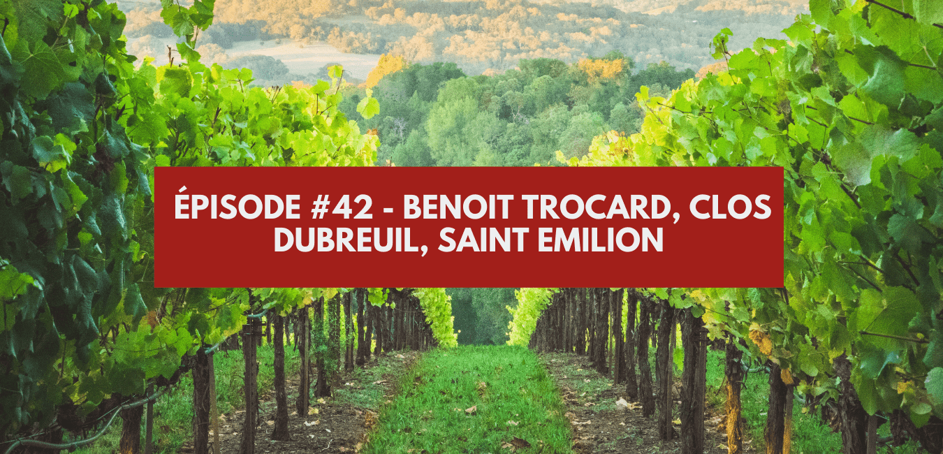 You are currently viewing Épisode 42 – Benoît Trocard, Clos Dubreuil