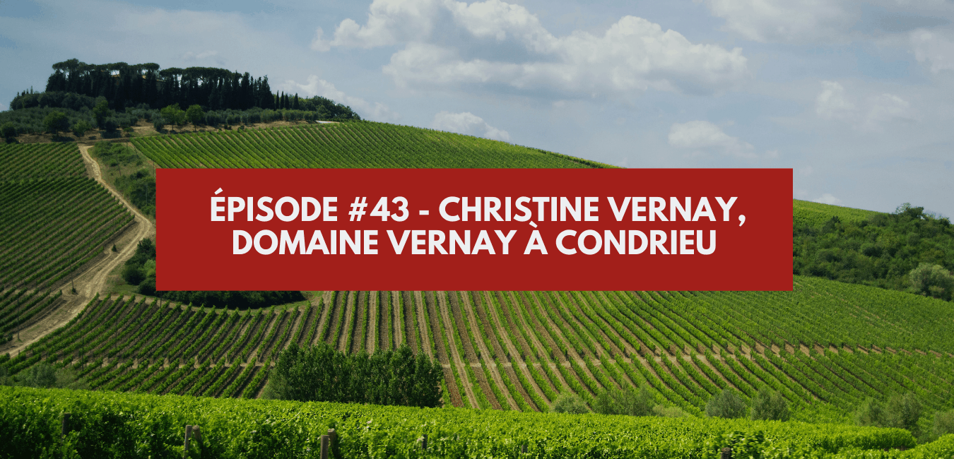 You are currently viewing Épisode #43 – Christine Vernay, Domaine Vernay à Condrieu