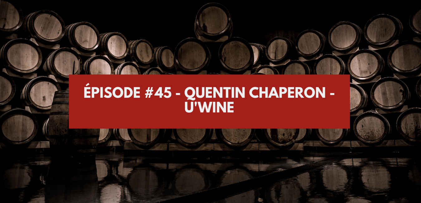 You are currently viewing Épisode #45 – Quentin Chaperon – U'Wine