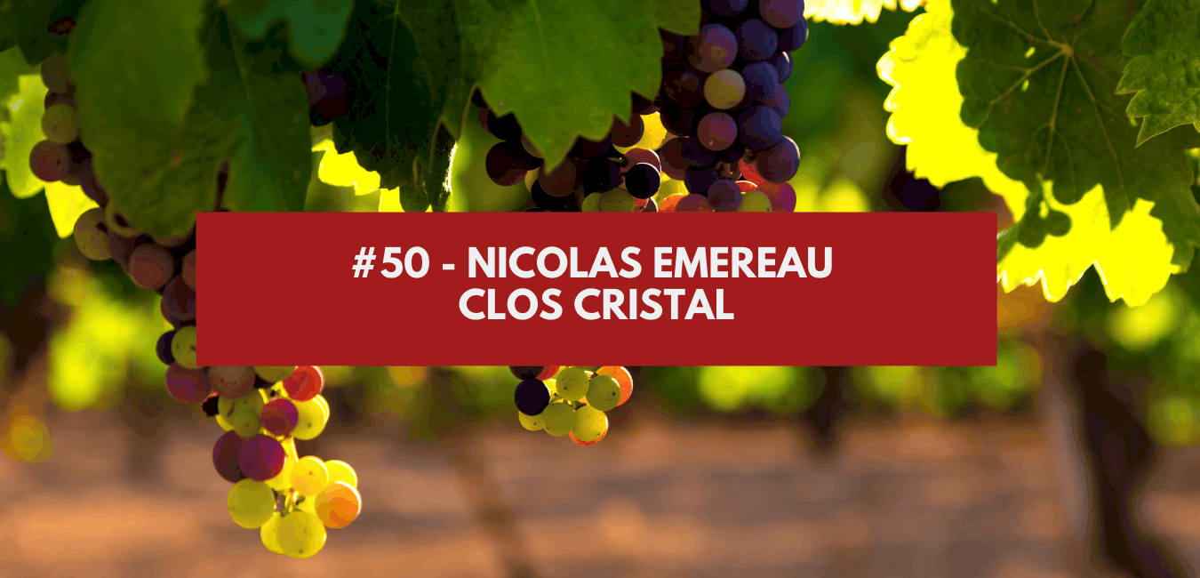 You are currently viewing #50 – Nicolas Emereau – Clos Cristal