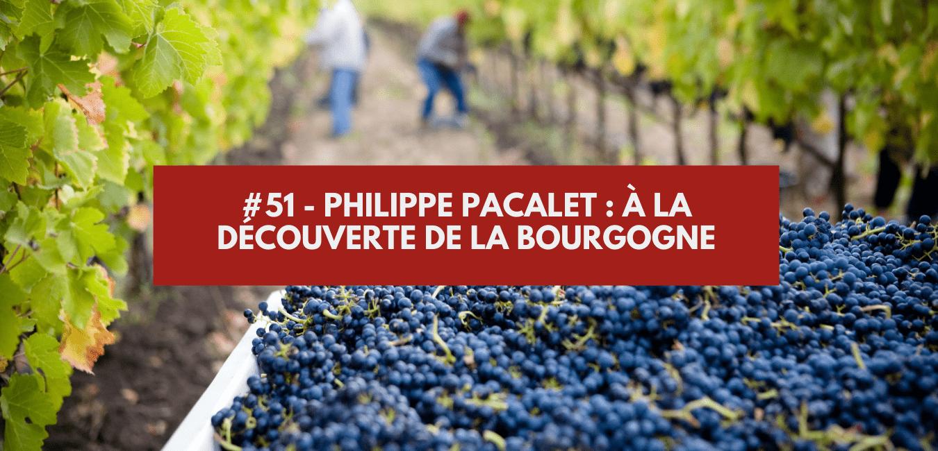 You are currently viewing #51 – Philippe Pacalet : à la découverte de la Bourgogne
